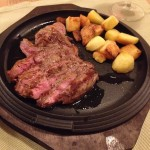 Steve and Cathy's steak