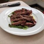 More sliced beef
